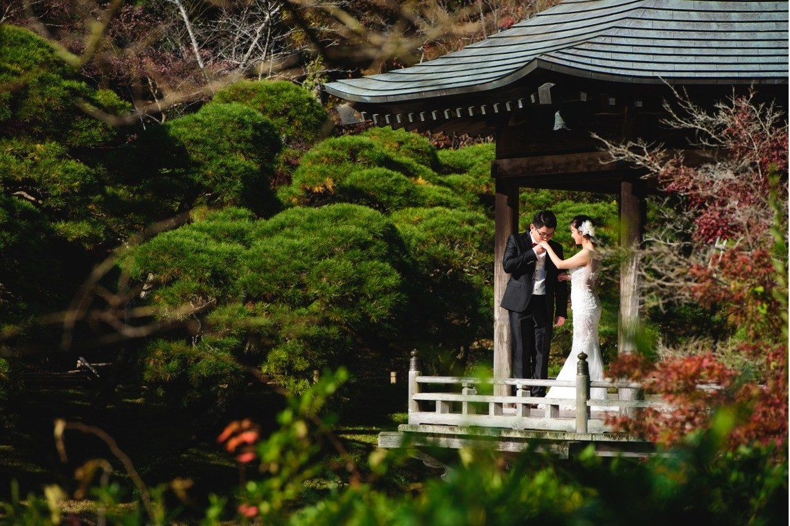 Couple pre wedding shoot in Japan — Photo by 8StarWedding