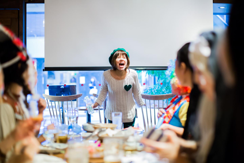 MAKOTO TOCHIKUBOの撮影したランクアップ社の社内イベント写真