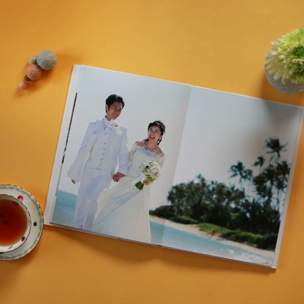 結婚式当日フォトのアルバム