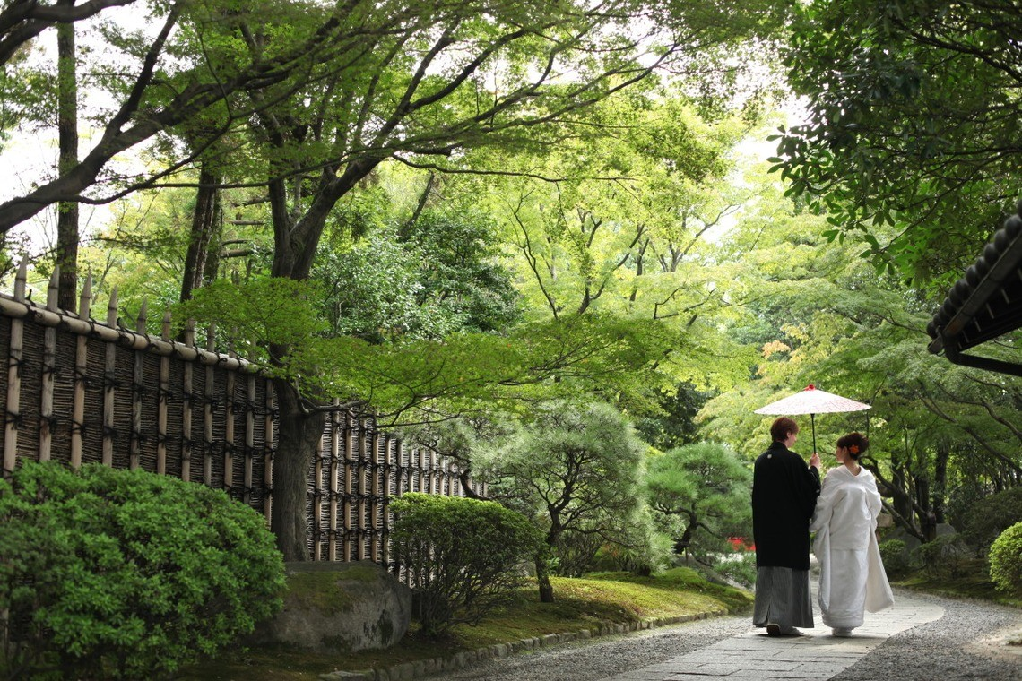 Peaceful scenery can be found throughout the Meiji Shrine — Photo by Atelier Kinoshita