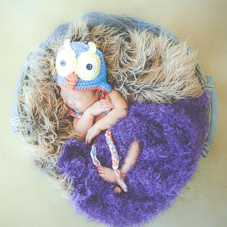 エミリィのニューボーンフォト、新生児写真撮影