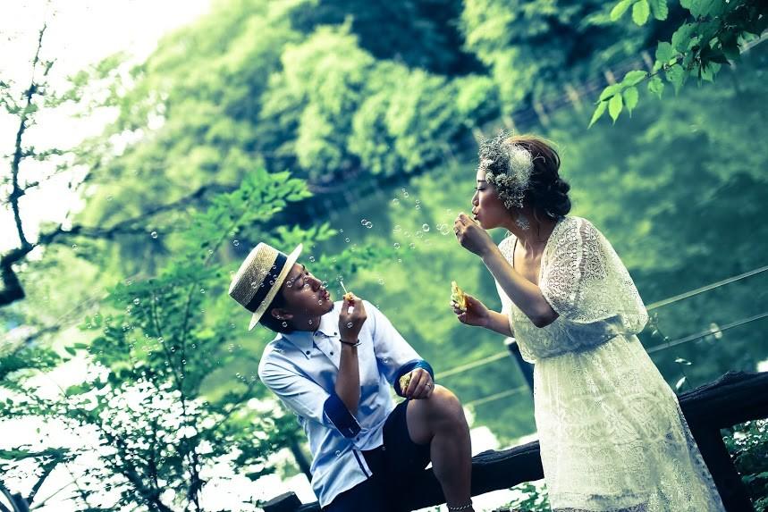 加倉井 規晃/SWEEDYが東京で撮った公園でのロケーションフォト (ファマリー)
